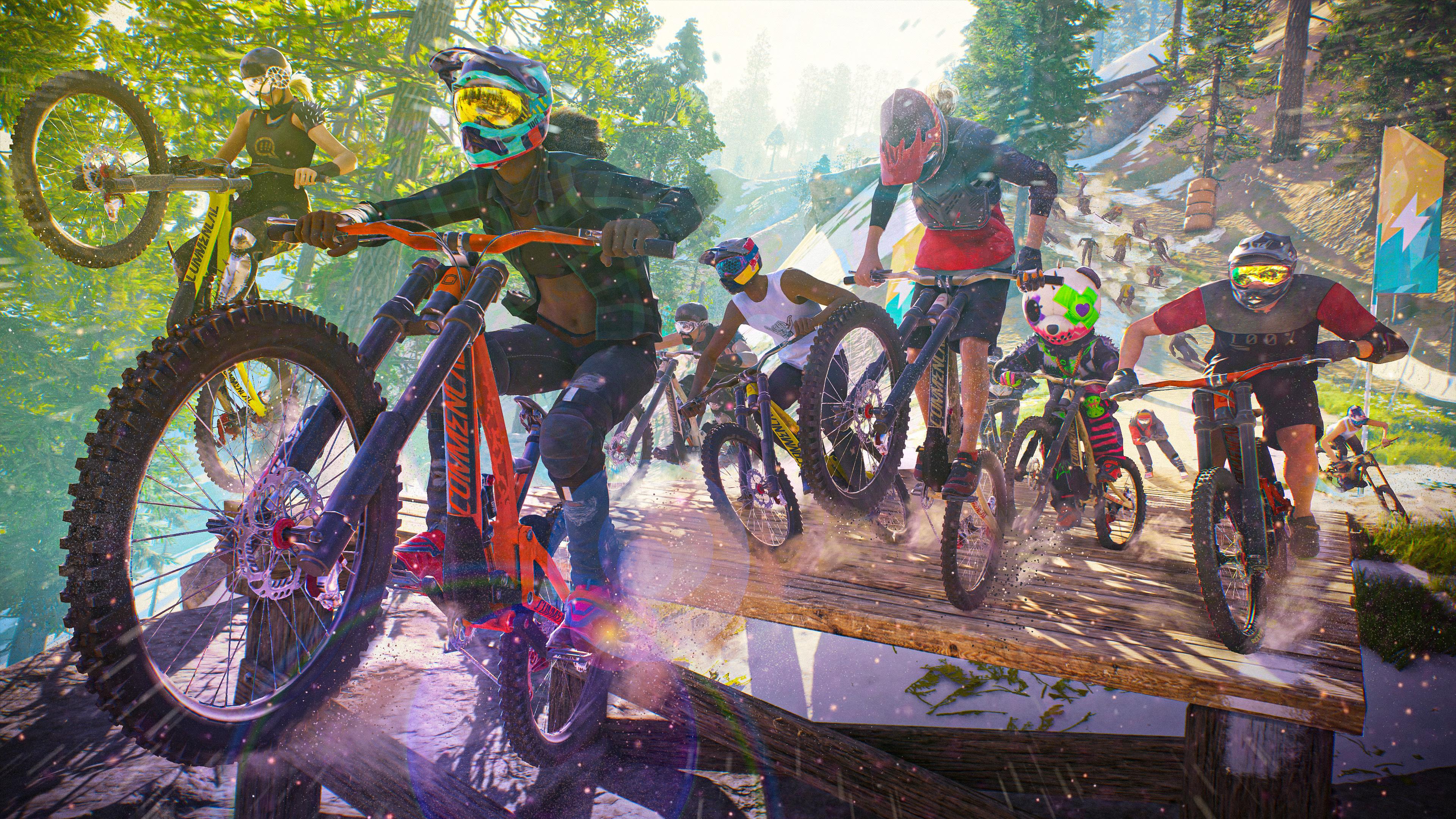 12 октября можно будет бесплатно поиграть в PC-версию Riders Republic