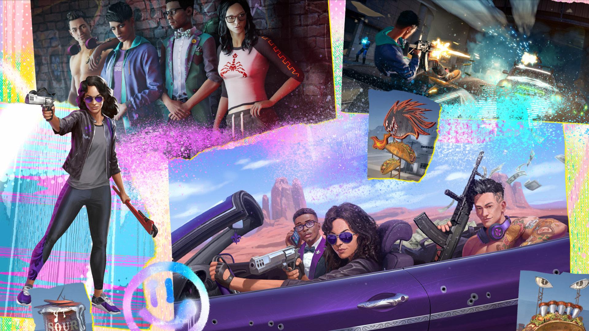 Прогулки по Санто-Илесо в геймплейном ролике из Saints Row
