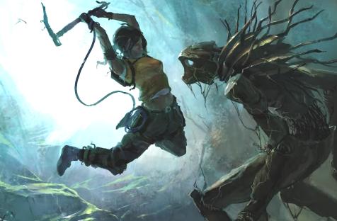 Кадры из Tomb Raider: Ascension — альтернативной версии перезагрузки, где серия превращалась в хоррор на выживание