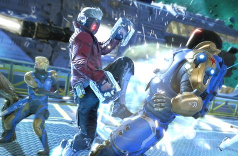 В Guardians of the Galaxy можно создать свой уровень сложности — игра предлагает уйму настроек геймплея