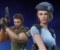 Крис Редфилд и Джилл Валентайн из Resident Evil появились в Fortnite
