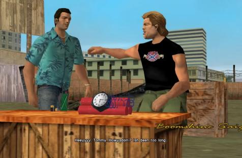 Похоже, Rockstar убрала флаг Конфедерации из переиздания GTA: Vice City