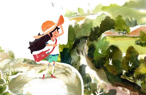 Focus издаст Dordogne — акварельное приключение о прекрасном детстве во французской деревне