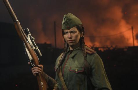 Подробности о четырёх оперативниках из Call of Duty: Vanguard, включая легендарную снайпершу Полину Петрову