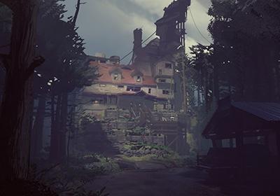 Первый взгляд на дом проклятых в What Remains of Edith Finch
