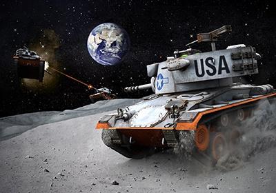 Консольные «Танки» отправились на Луну