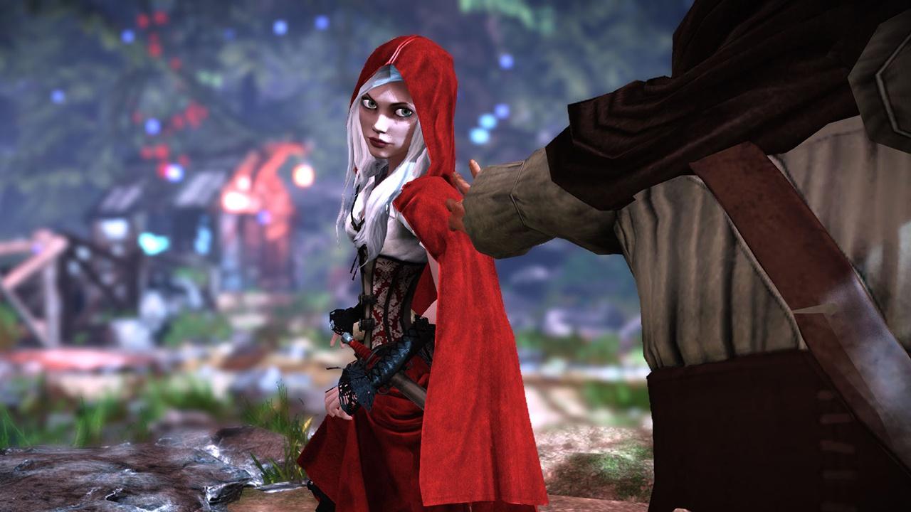 Красная шапочка с топором  № 1821747 бесплатно