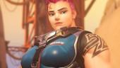 Грозная русская красавица Заря громит противников в Overwatch
