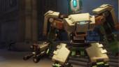 Боевой робот Бастион задает жару на просторах Overwatch