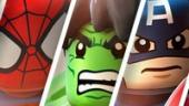 Спасти мир в LEGO Marvel Super Heroes