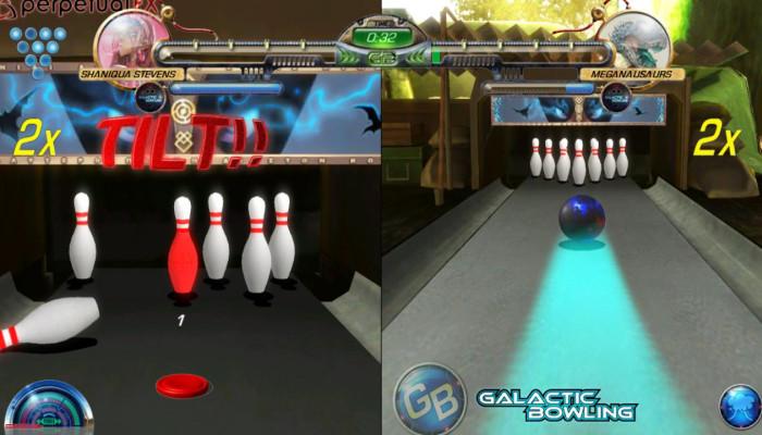 к игре Galactic Bowling