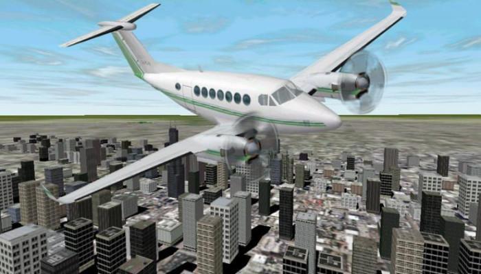 к игре Microsoft Flight Simulator 2000