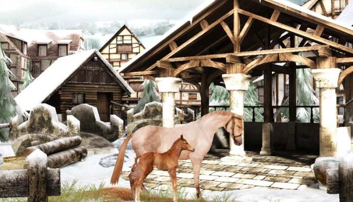 к игре Horsez