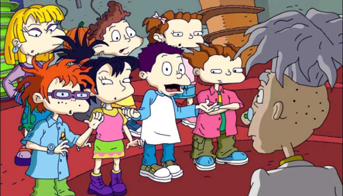 к игре Rugrats: All Growed Up