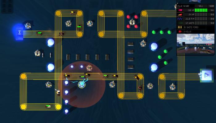 к игре Circuit Defenders