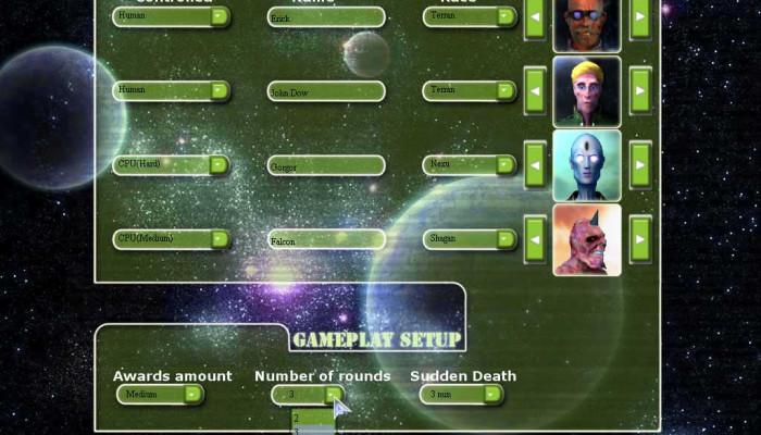 к игре Galatron
