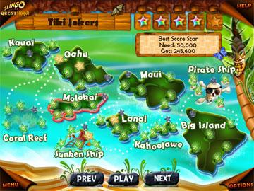 к игре Slingo Quest Hawaii