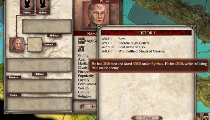 к игре Europa Universalis: Rome - Vae Victis