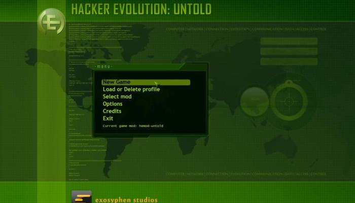 к игре Hacker Evolution Untold