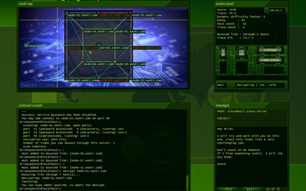 Hacker Evolution Untold / Хакер Взлом 2.0 (Новый Диск) (RUS) Лицензия