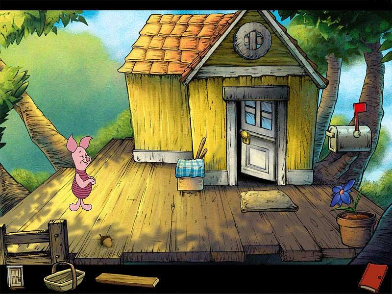 Скачать игру Винни Пух и Медовый Пир