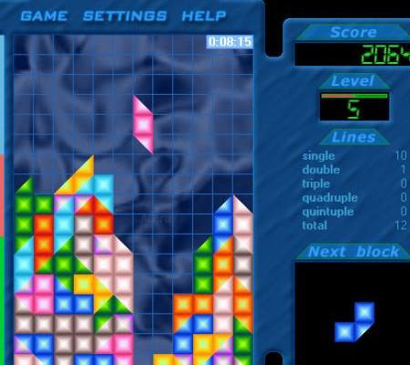 к игре Amazing Tetris