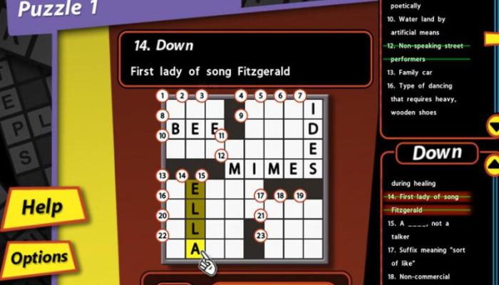 к игре Crosswords for Dummies