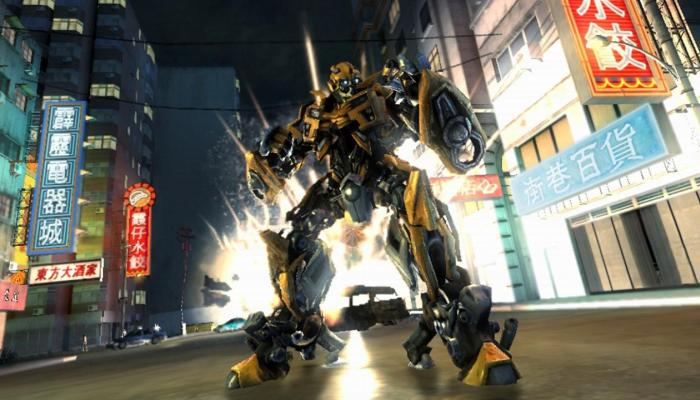 к игре Transformers: Revenge of the Fallen - The Game