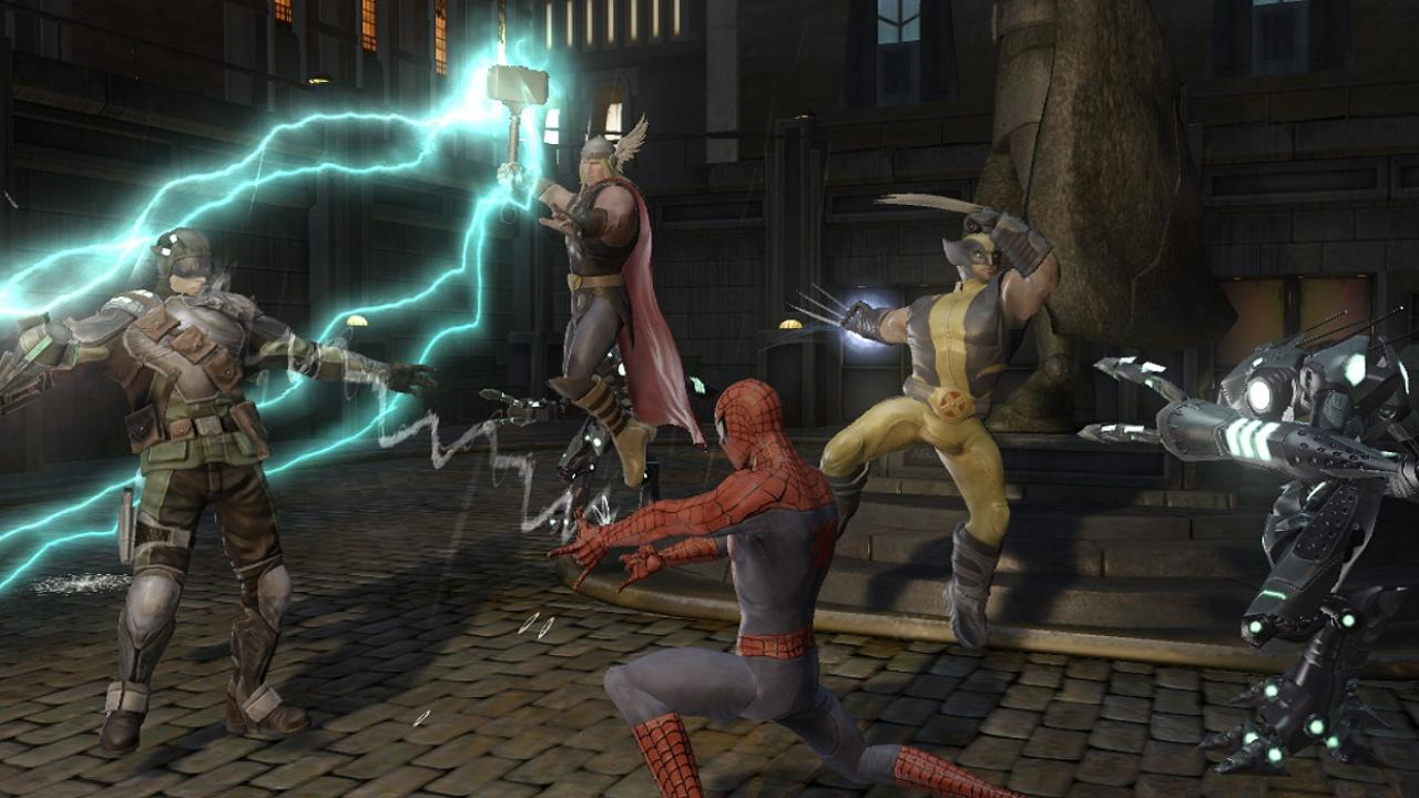 screenshots marvel ultimate alliance 2: fusion