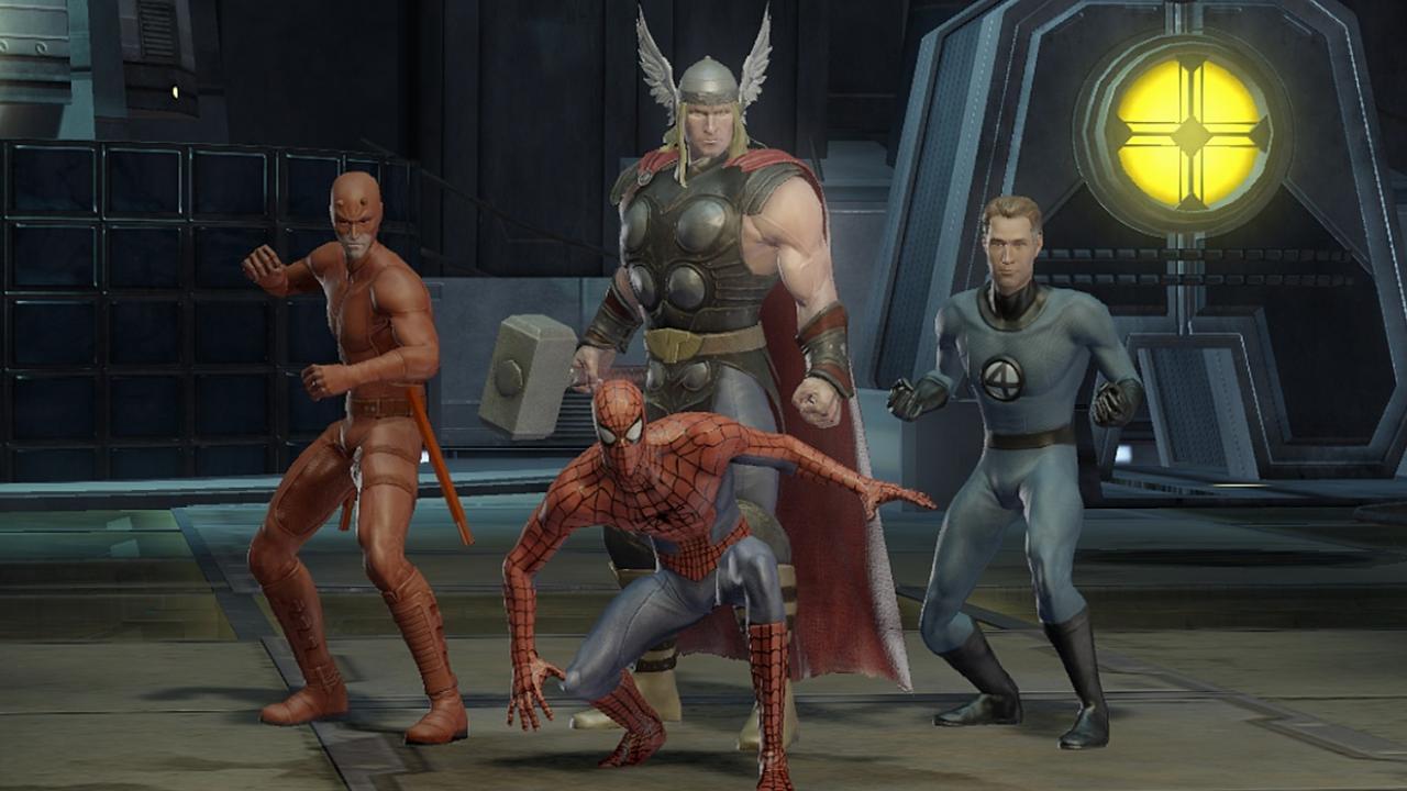screenshots marvel ultimate alliance 2: fusion