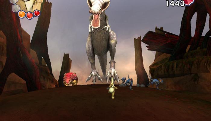 к игре Ice Age: Dawn of the Dinosaurs