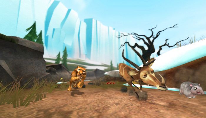 к игре Ice Age: Dawn of the Dinosaurs