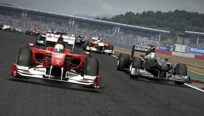 Скачать игру F1 2010 возглавила британский чарт, скачать игры, игры торрент