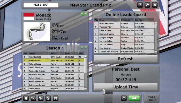 к игре New Star Grand Prix
