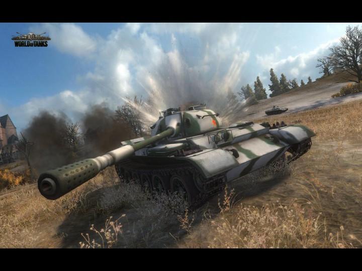 World of Tanks обзор тестовой версии 0.8.7.