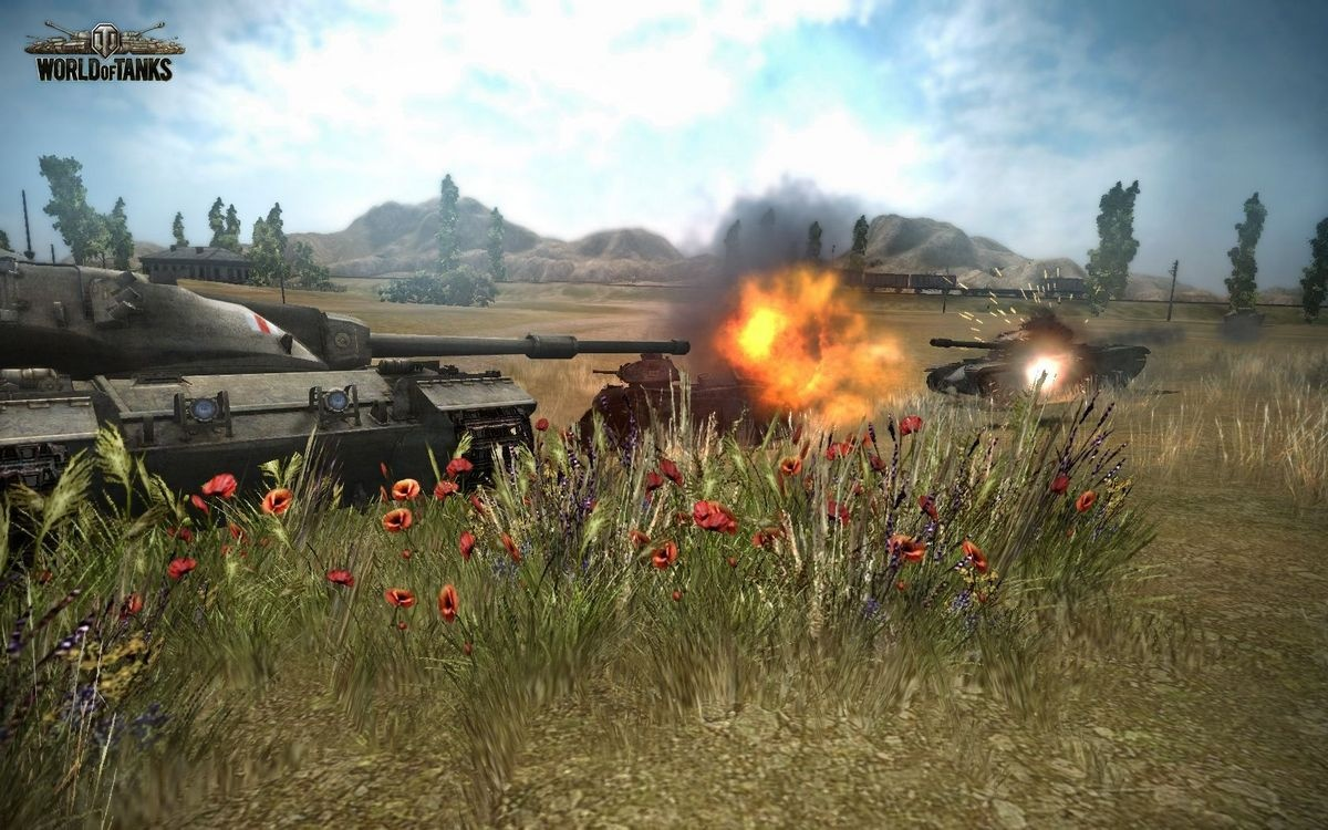 Картинка игры с танками