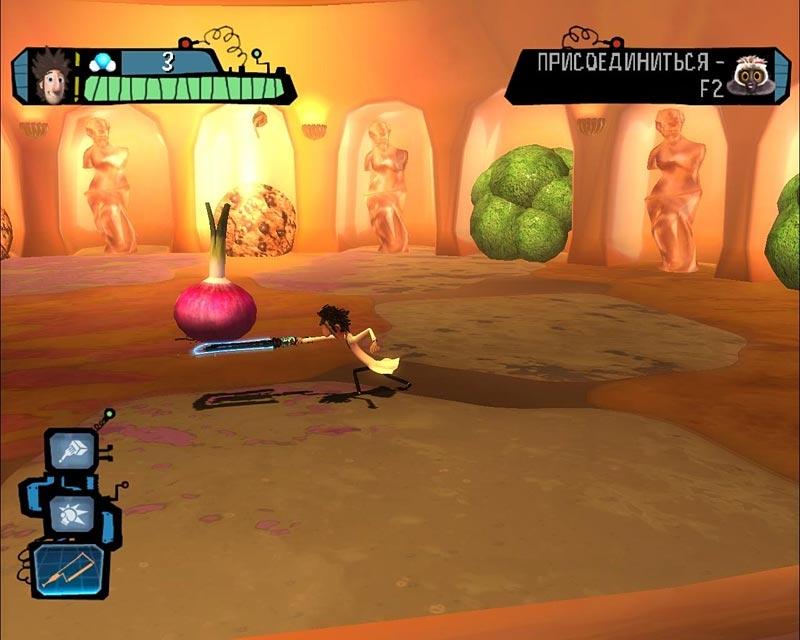 Скачать бесплатно игру облачно возможны осадки в виде фрикаделек.