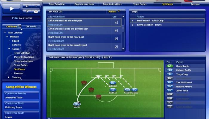 к игре Championship Manager 2010