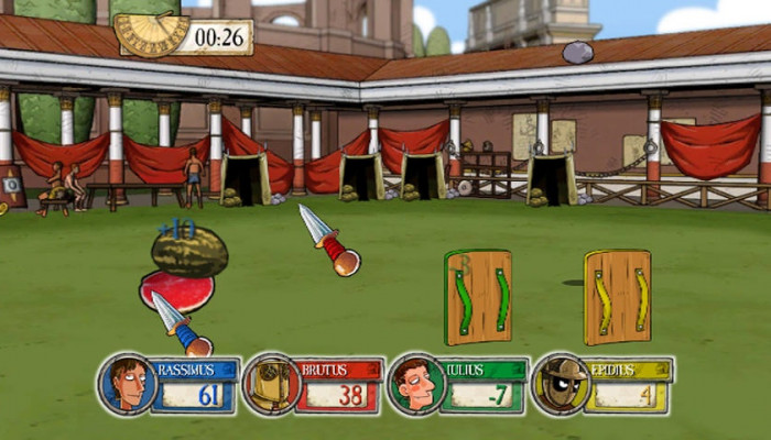 к игре Horrible Histories: Ruthless Romans