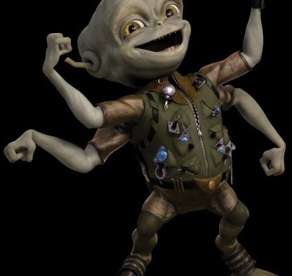 к игре Aliens in the Attic