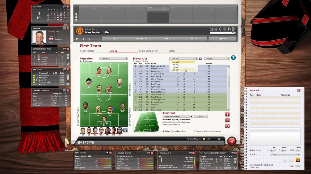Игра fifa manager 10 — дата выхода, трейлеры, видео, обзоры, обои.