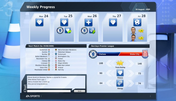 к игре FIFA Manager 10
