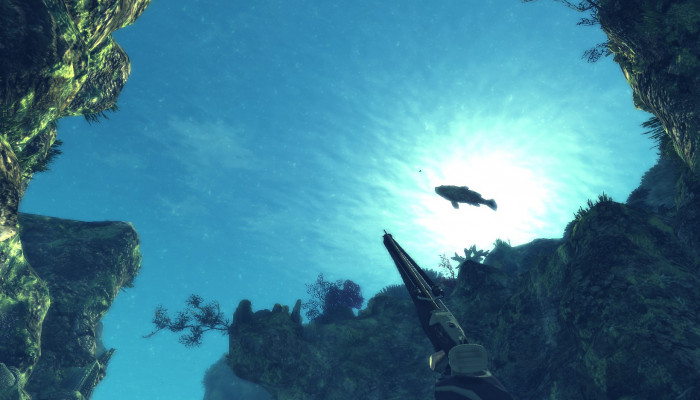 к игре Spearfishing