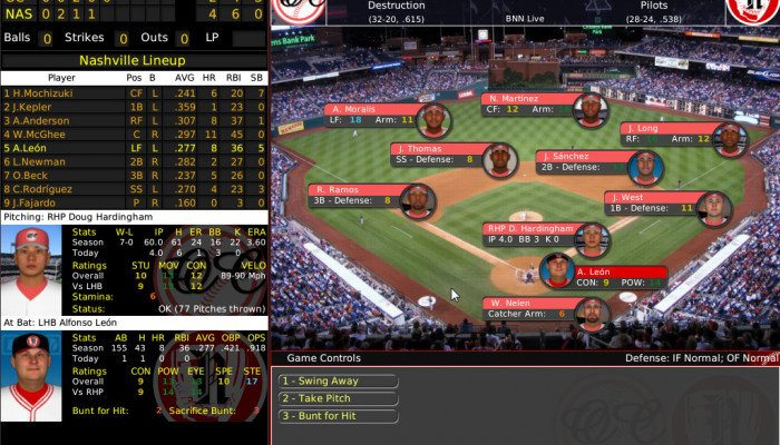 к игре Out of the Park Baseball 10