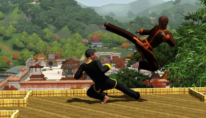 к игре Sims 3: World Adventures, The