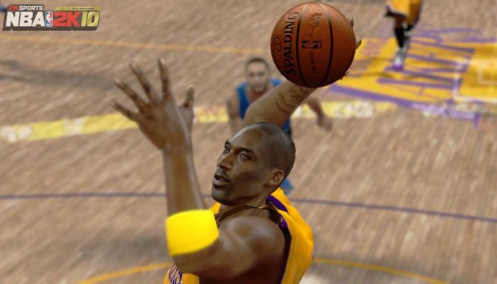 NBA 2k10 - NBA 2K10: мяч в корзину - официальное обновление.