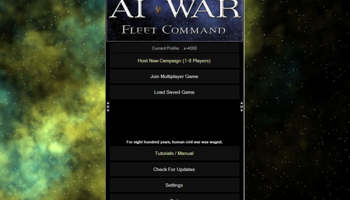к игре AI War: Fleet Command