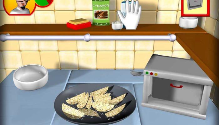 к игре Crazy Cooking