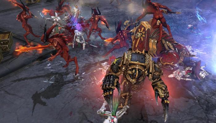 к игре Warhammer 40.000: Dawn of War 2 – Chaos Rising