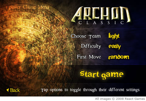 к игре Archon Classic